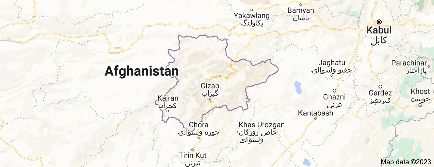 Location of Daykundi