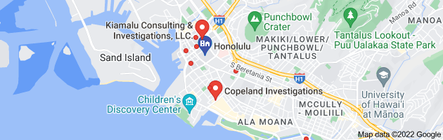 Honolulu, HI private investigators