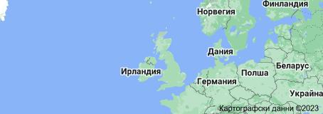 Location of Обединено кралство Великобритания и Северна Ирландия