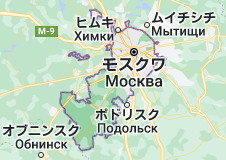 Location of モスクワ