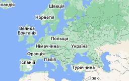 Location of Європа