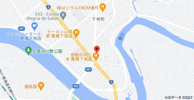 〒440-0084 愛知県豊橋市下地町瀬上16の地図