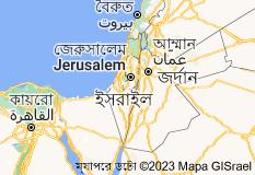 Location of ইসরায়েল