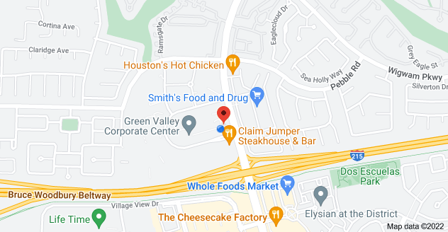Map of 701 N Green Valley Pkwy, Henderson, NV 89074