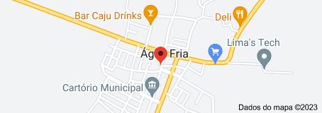 Mapa de Prefeitura Municipal de Água Fria