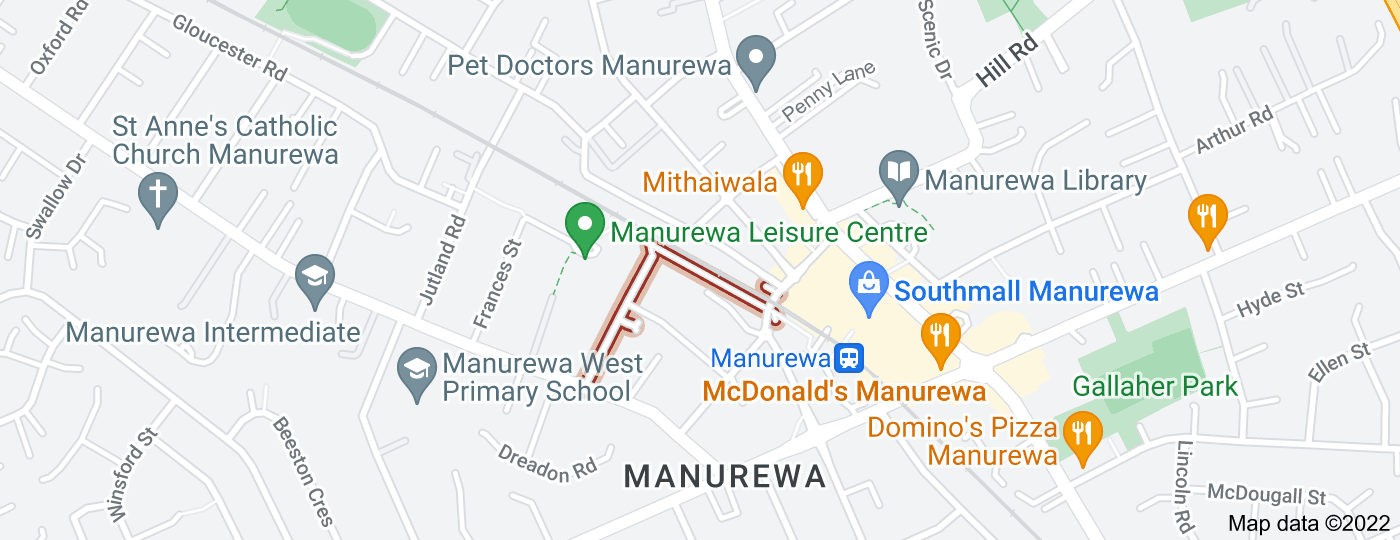 Location of James Road