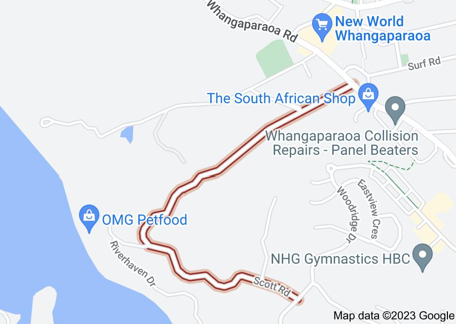 Location of Scott Road