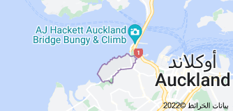Location of Herne Bay, New Zealand