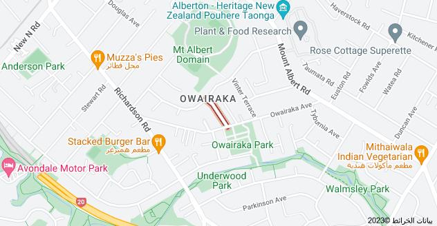 Location of Mountfield Terrace