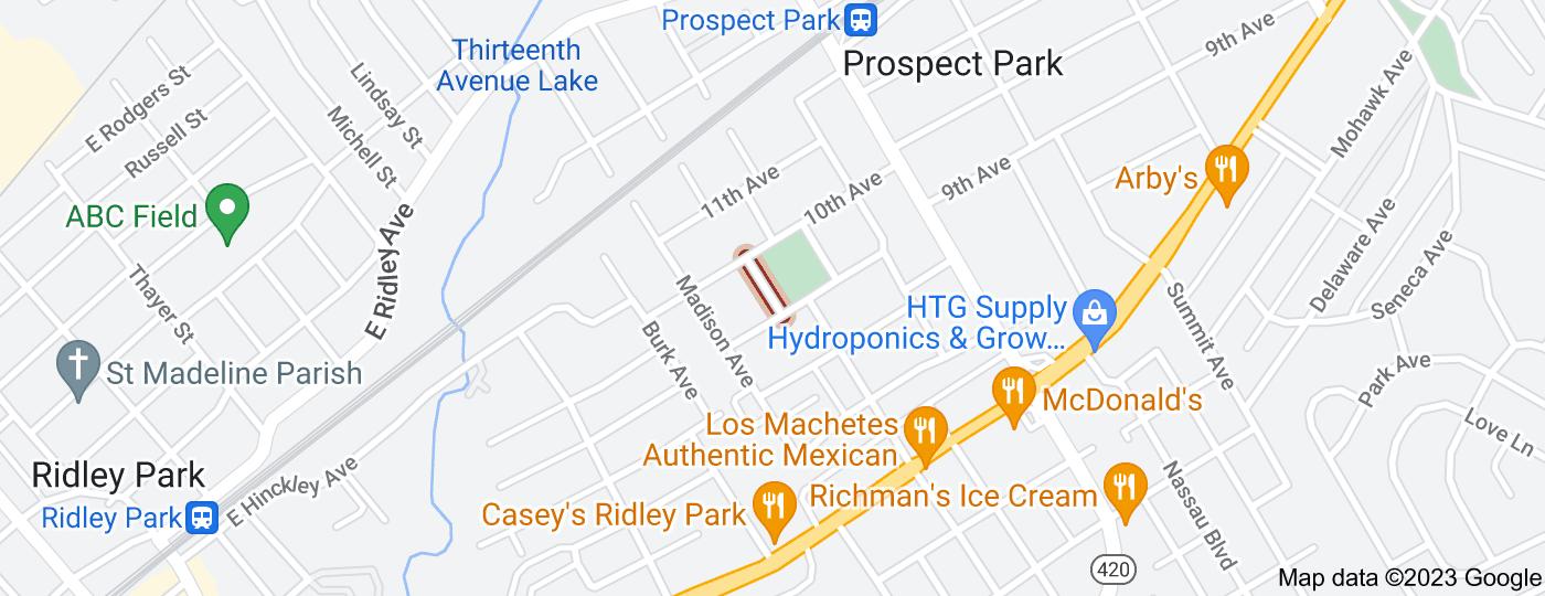 Location of West Park Square