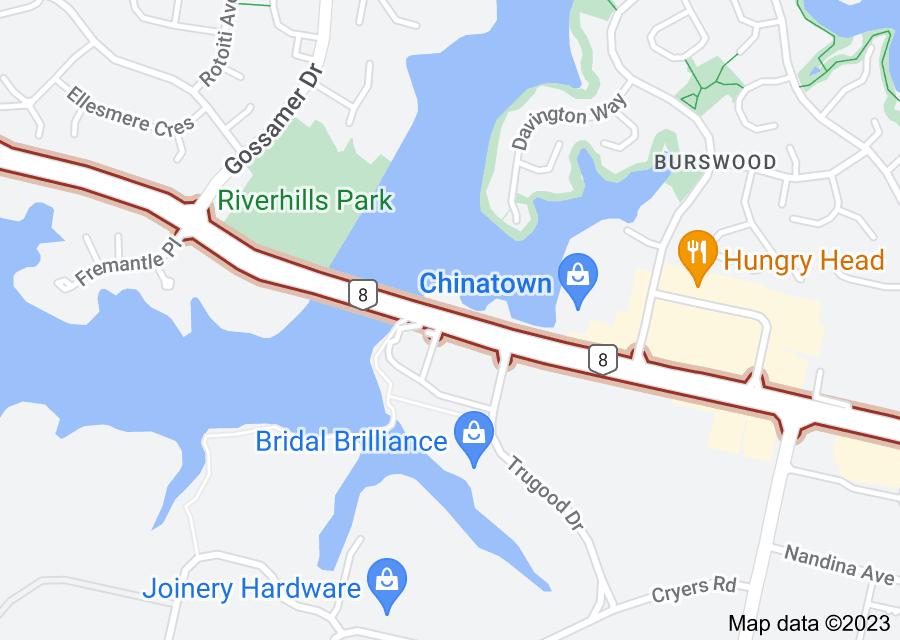 Location of Ti Rakau Drive
