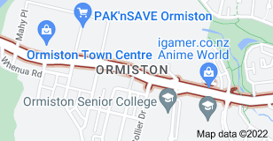 Location of Ormiston Road