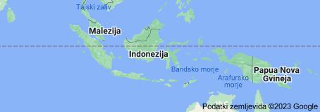 Location of Indonezija