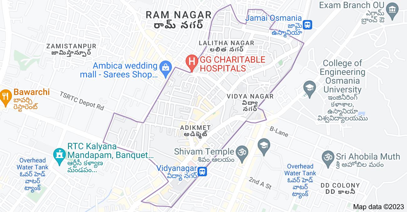 Map of Adikmet, Hyderabad, Telangana, India