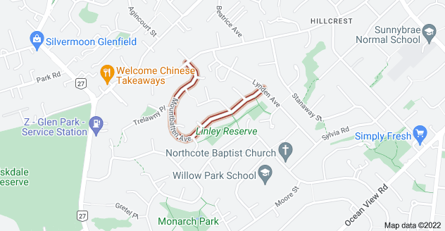 Location of Mountbatten Avenue
