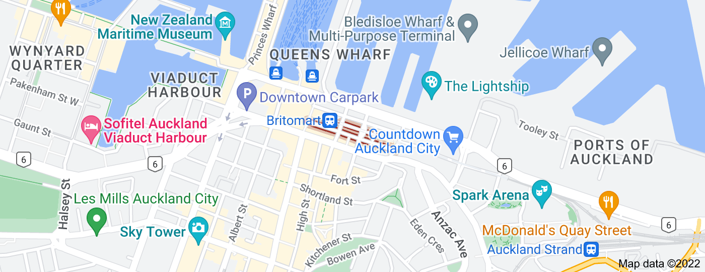 Location of Galway Street