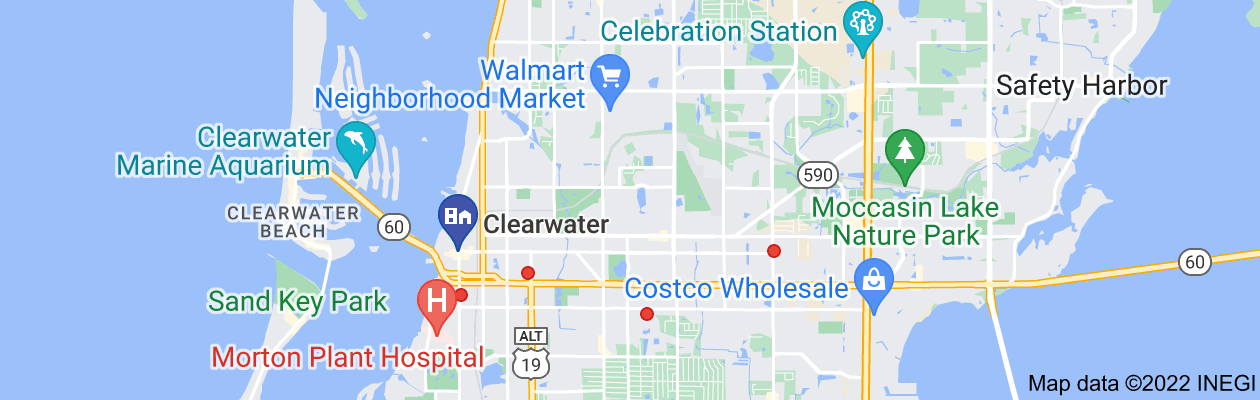 Map of private investigators clearwater florida