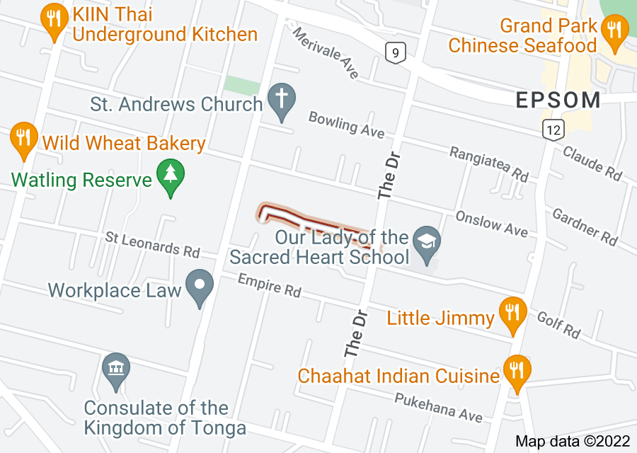 Location of Atherton Road