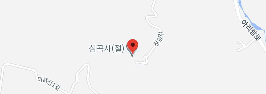 익산 심곡사 대웅전 지도