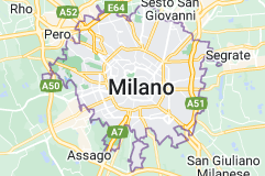 Mappa di: Milano