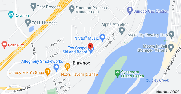 Map of 400 Freeport Rd, Blawnox, PA 15238