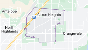 Map of Citrus Heights