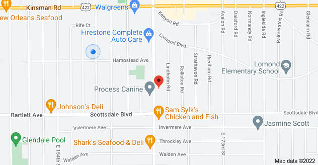 Map of 3689 Lee Rd, Shaker Heights, OH 44120