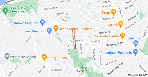 Location of Farrar Street