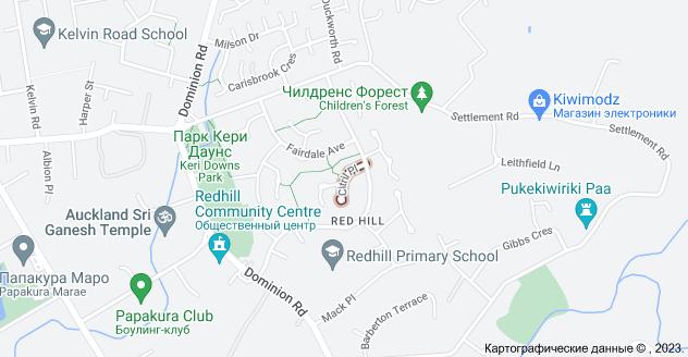 Location of Ситрил Плейс