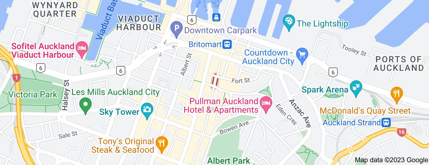 Location of Jean Batten Place