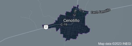 Cenotillo Map