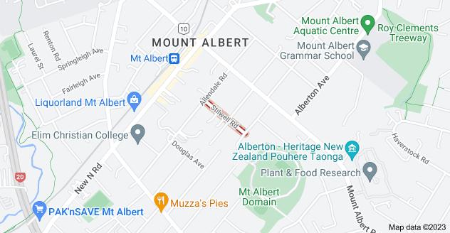 Location of Stilwell Road