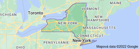 Location of New York