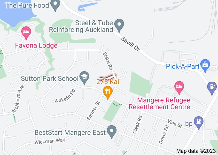 Location of Macky Avenue