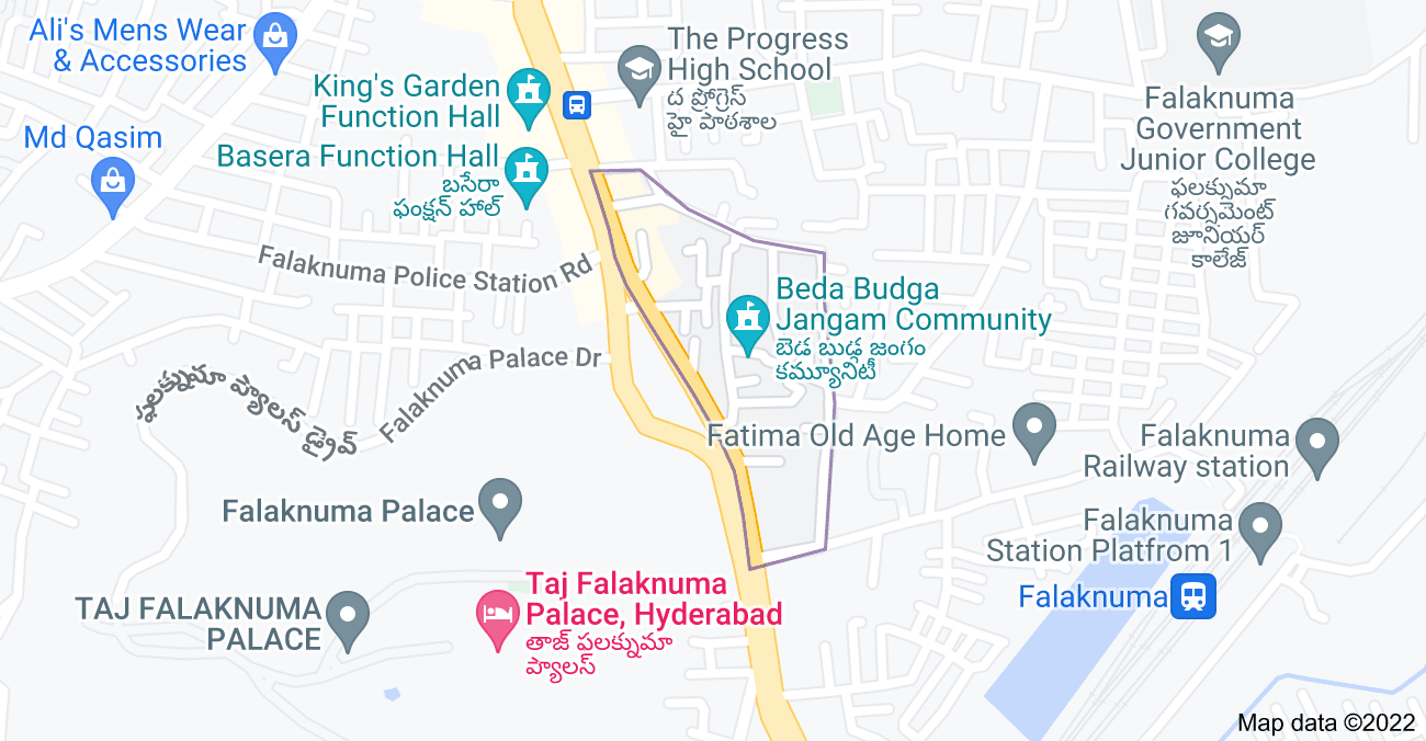Map of Jangammet, Falaknuma, Hyderabad, Telangana 500053, India