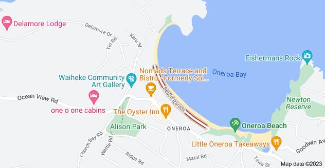 Location of Beach Parade