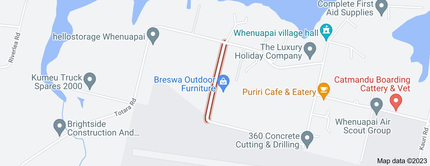 Location of Karaka Road