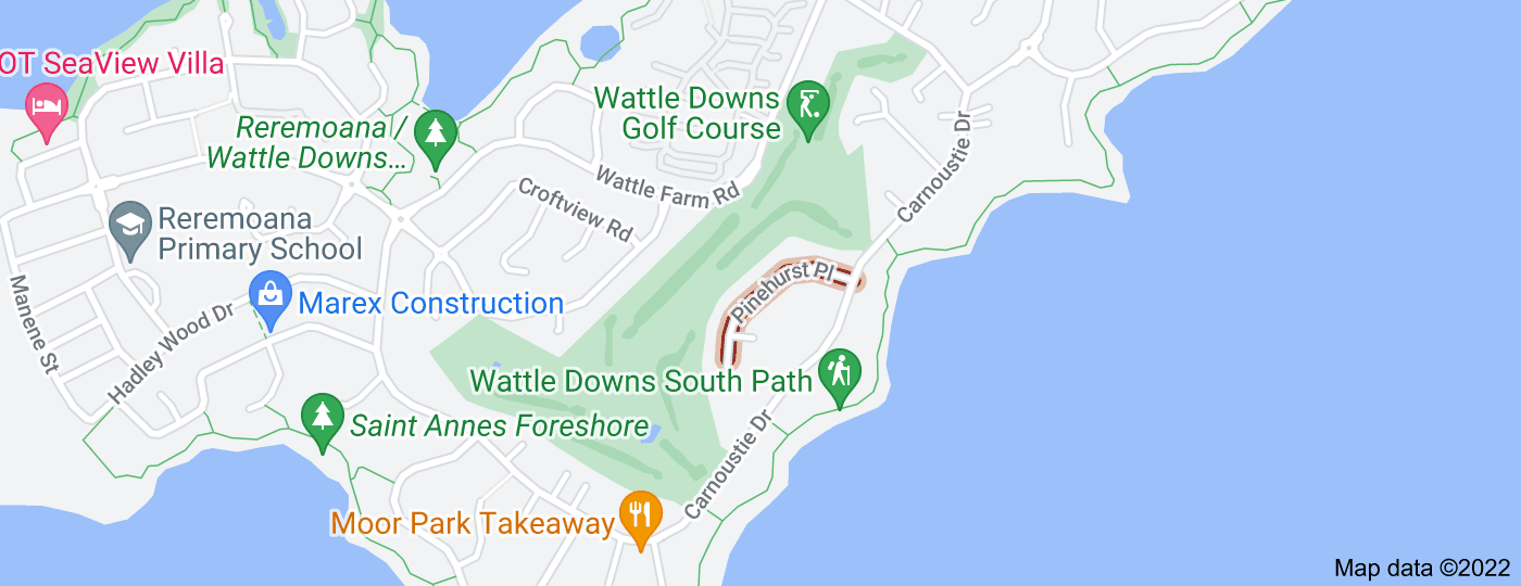 Location of Pinehurst Place
