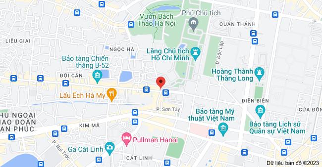 Bản đồ của Ngọc Hà & Đội Cấn, Đội Cấn, Ba Đình, Hà Nội