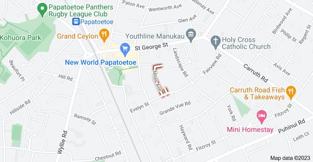 Location of Miles Avenue