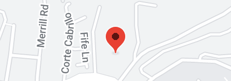 Map of Temple Beth El Jewish Community Center