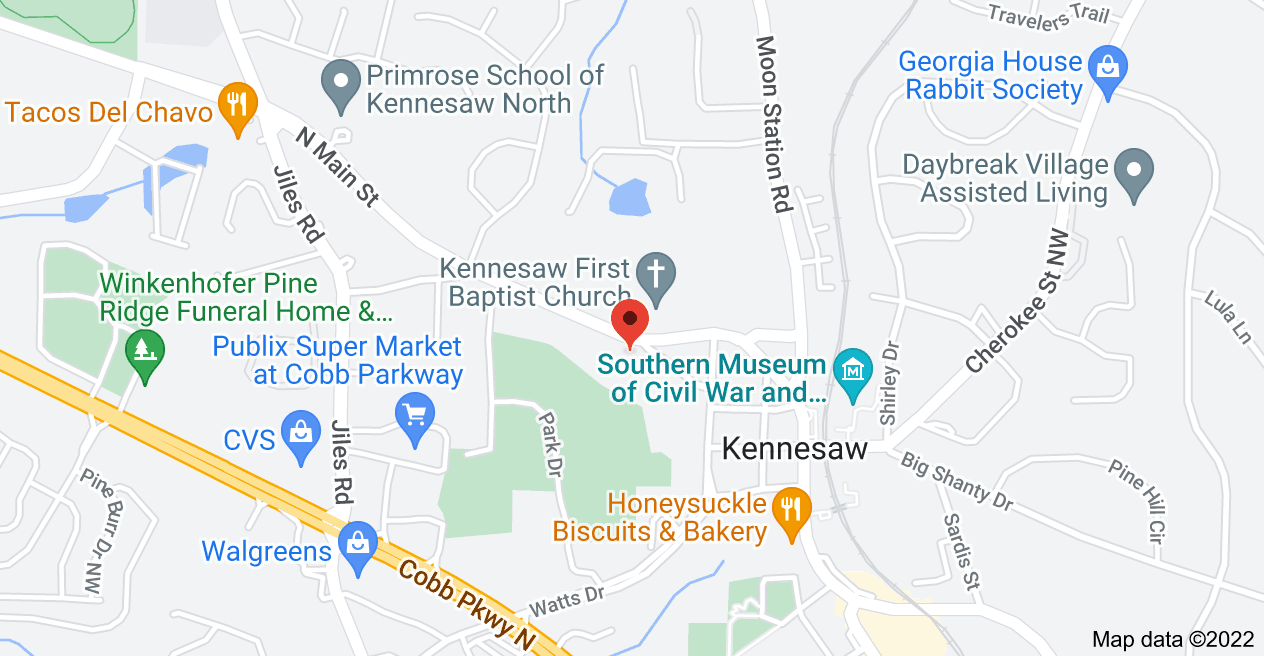Map of 2931 Lewis St, Kennesaw, GA 30144