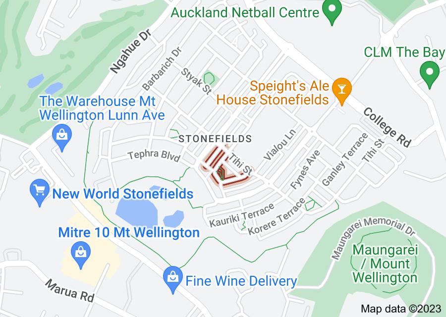 Location of Guard Crescent