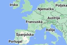 Location of Francuska