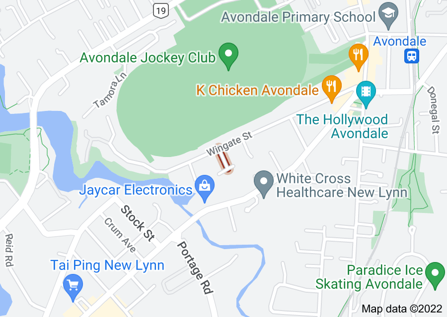 Location of Pecan Place