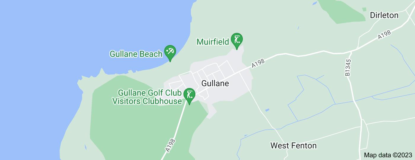 Location of Gullane