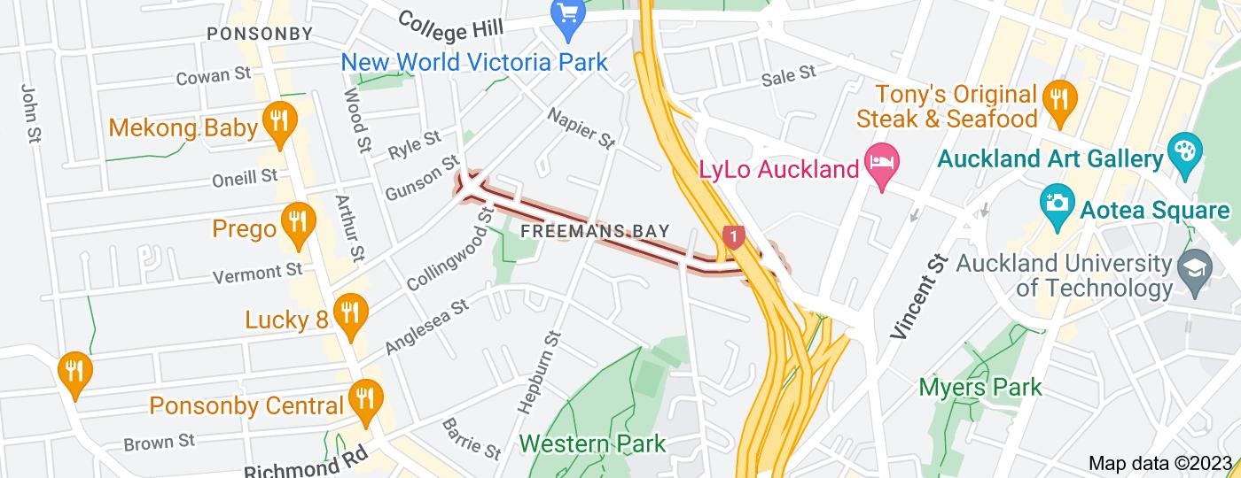 Location of Wellington Street