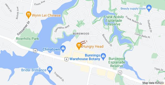 Location of Tullis Place