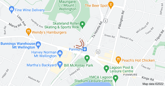 Location of Mountwell Crescent
