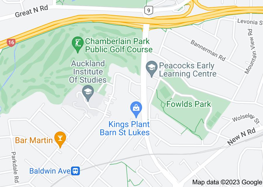 Location of Challinor Crescent